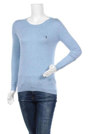 Дамски пуловер Polo Club, Размер S, Цвят Син, 100% памук, Цена 18,90лв.