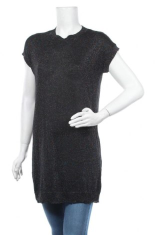 Дамски пуловер Vrs Woman, Размер M, Цвят Черен, 78% вискоза, 14% полиестер, 8% метални нишки, Цена 6,01лв.