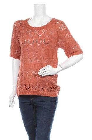 Дамски пуловер Vrs Woman, Размер L, Цвят Кафяв, Акрил, Цена 7,88лв.