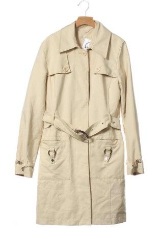 Дамски шлифер S.Oliver, Размер XS, Цвят Бежов, 82% полиестер, 18% полиамид, Цена 51,45лв.