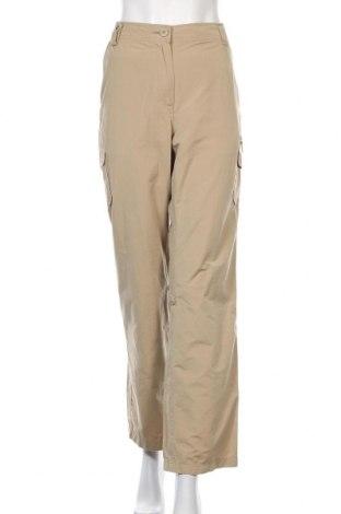 Дамски спортен панталон Aigle, Размер XL, Цвят Бежов, 52% полиестер, 48% памук, Цена 20,24лв.