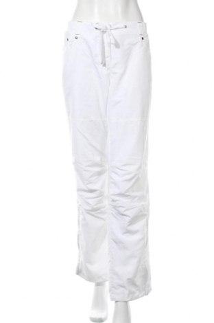 Дамски спортен панталон Essentials by Tchibo, Размер L, Цвят Бял, Полиестер, Цена 22,05лв.