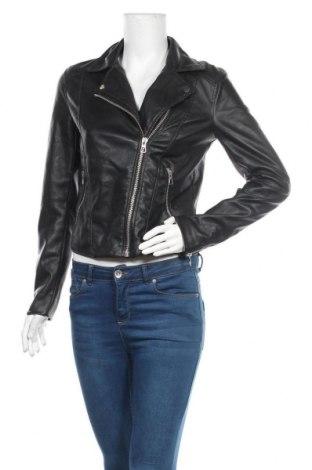 Dámská kožená bunda  H&M Divided, Velikost M, Barva Černá, Eko kůže, Cena  654,00Kč