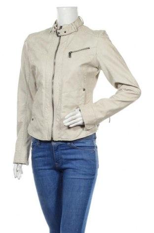 Дамско кожено яке S.Oliver, Размер M, Цвят Бежов, Еко кожа, Цена 25,20лв.