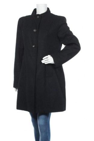 Γυναικείο παλτό, Μέγεθος XXL, Χρώμα Μαύρο, 55% μαλλί, 40% πολυεστέρας, 5% βισκόζη, Τιμή 39,49€