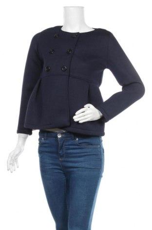 Дамско палто Urban By Venca, Размер S, Цвят Син, 60% вискоза, 35% полиестер, 5% еластан, Цена 28,56лв.