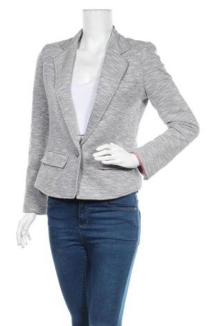 Дамско сако Casa Blanca, Размер S, Цвят Сив, 65% памук, 35% полиестер, Цена 24,36лв.