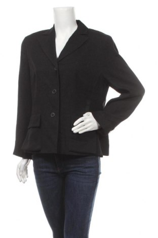Дамско сако Evelin Brandt, Размер L, Цвят Черен, 59% вискоза, 41% полиестер, Цена 11,55лв.