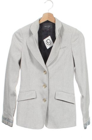 Γυναικείο σακάκι Lorenz Bach, Μέγεθος XS, Χρώμα Γκρί, 63% βαμβάκι, 23% βισκόζη, 14% πολυαμίδη, Τιμή 11,39€