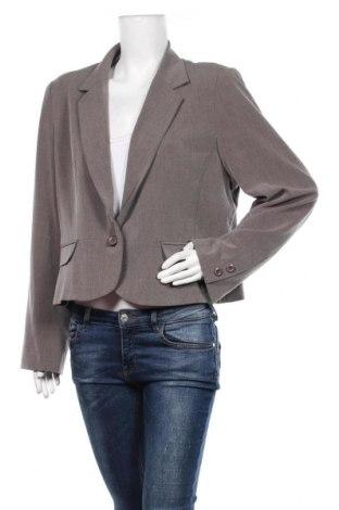 Дамско сако My Own, Размер XL, Цвят Бежов, 64% полиестер, 32% вискоза, 4% еластан, Цена 7,31лв.