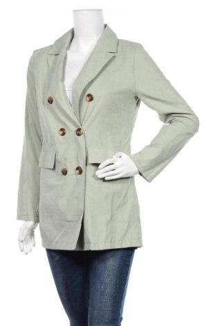 Дамско сако SHEIN, Размер M, Цвят Зелен, 97% полиестер, 3% еластан, Цена 8,82лв.