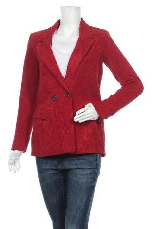Дамско сако Venca, Размер S, Цвят Червен, 85% памук, 15% полиестер, Цена 26,55лв.