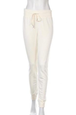 Дамско спортно долнище H&M, Размер S, Цвят Екрю, 80% памук, 20% полиестер, Цена 17,55лв.