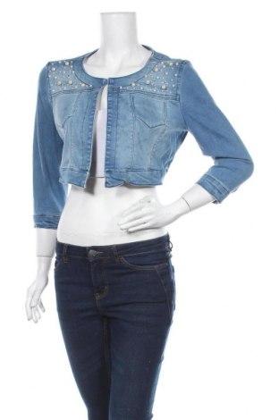 Dámská bunda , Velikost M, Barva Modrá, 97% bavlna, 3% elastan, Cena  370,00Kč