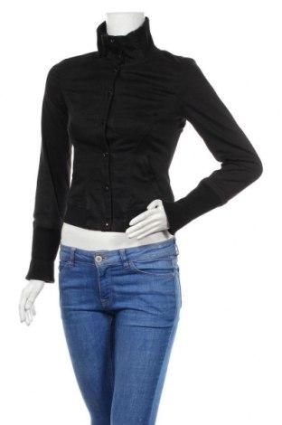 Дамско яке Max&Co., Размер S, Цвят Черен, 98% памук, 2% еластан, Цена 48,28лв.