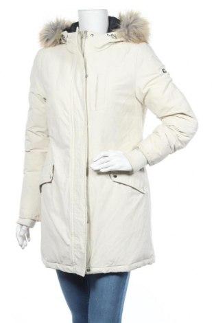 Γυναικείο μπουφάν Tommy Hilfiger, Μέγεθος M, Χρώμα  Μπέζ, 66% βαμβάκι, 34% πολυαμίδη, φτερά και πούπουλα, Τιμή 221,13€