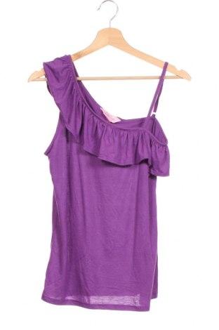 Детска блуза, Размер 14-15y/ 168-170 см, Цвят Лилав, Полиестер, вискоза, Цена 4,85лв.