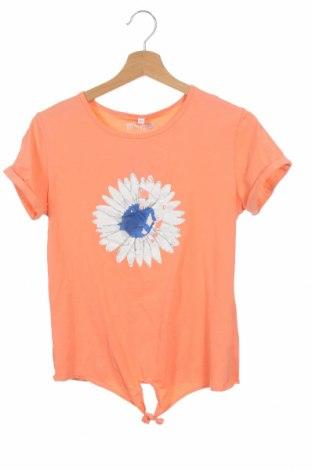 Детска блуза, Размер 13-14y/ 164-168 см, Цвят Оранжев, 95% памук, 5% еластан, Цена 7,92лв.
