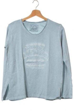 Παιδική μπλούζα Alive, Μέγεθος 12-13y/ 158-164 εκ., Χρώμα Μπλέ, Βαμβάκι, Τιμή 3,18€