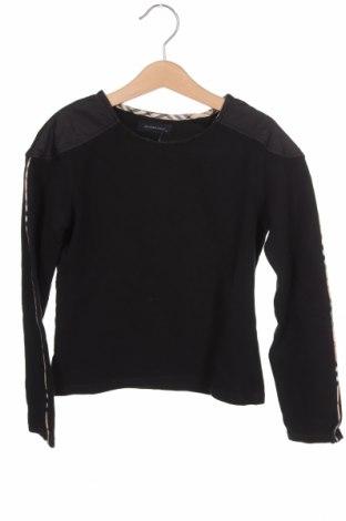 Dětská halenka  Burberry, Velikost 9-10y/ 140-146 cm, Barva Černá, 93% bavlna, 7% elastan, Cena  421,00Kč