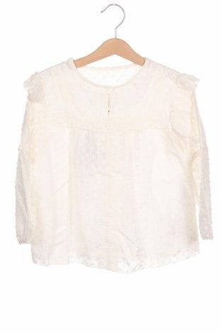 Bluză pentru copii Burberry, Mărime 6-7y/ 122-128 cm, Culoare Alb, 53% bumbac, 27% mătase, 20% viscoză, Preț 238,55 Lei