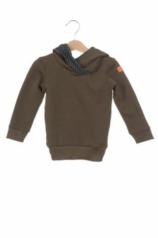 Детски суичър Livi, Размер 12-18m/ 80-86 см, Цвят Зелен, 95% памук, 5% еластан, Цена 13,20лв.