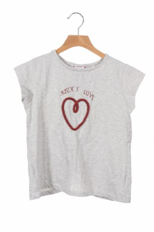 Детска блуза Neck & Neck, Размер 7-8y/ 128-134 см, Цвят Сив, 5% памук, 5% еластан, Цена 11,88лв.