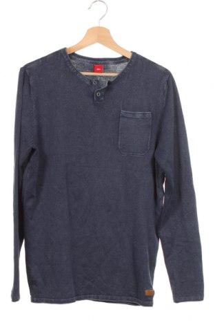 Παιδικό πουλόβερ S.Oliver, Μέγεθος 15-18y/ 170-176 εκ., Χρώμα Μπλέ, Τιμή 8,18€