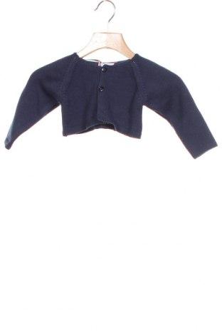 Детска жилетка Neck & Neck, Размер 3-6m/ 62-68 см, Цвят Син, Памук, Цена 28,32лв.