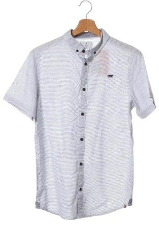 Детска риза Target, Размер 15-18y/ 170-176 см, Цвят Син, Памук, лен, Цена 6,83лв.