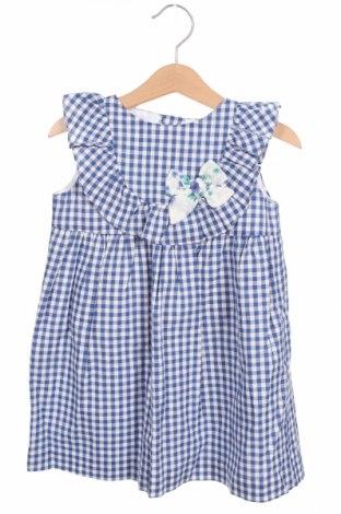 Детска рокля Lola Palacios, Размер 4-5y/ 110-116 см, Цвят Син, Цена 8,85лв.