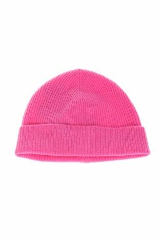 Căciulă pentru copii United Colors Of Benetton, Culoare Roz, 80% lână, 20% poliamidă, Preț 111,84 Lei