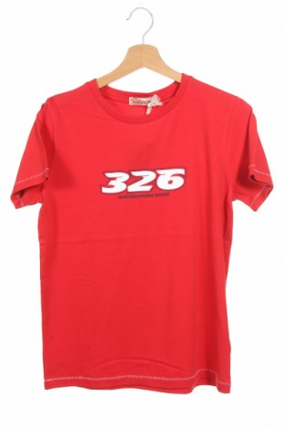Детска тениска Bondi, Размер 13-14y/ 164-168 см, Цвят Червен, Памук, Цена 7,92лв.