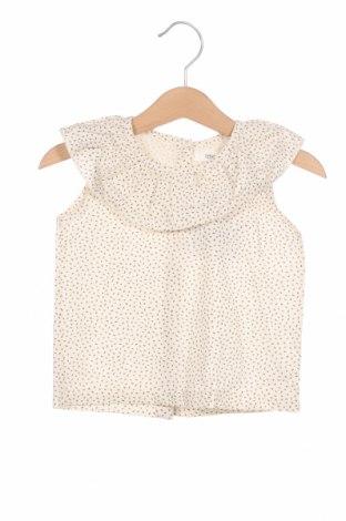 Детска туника Little Celebs, Размер 9-12m/ 74-80 см, Цвят Екрю, 96% памук, 4% еластан, Цена 15,96лв.