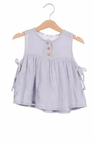 Детска туника Little Celebs, Размер 18-24m/ 86-98 см, Цвят Син, Памук, Цена 18,62лв.
