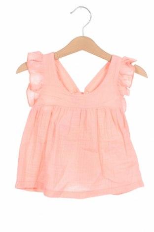 Детска туника Little Celebs, Размер 18-24m/ 86-98 см, Цвят Розов, Памук, Цена 18,62лв.