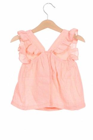 Детска туника Little Celebs, Размер 18-24m/ 86-98 см, Цвят Розов, Памук, Цена 36,75лв.