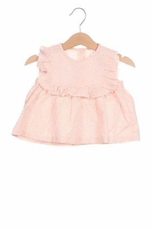 Детска туника Little Celebs, Размер 9-12m/ 74-80 см, Цвят Розов, Памук, Цена 13,00лв.