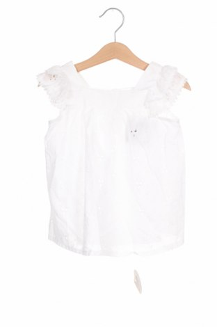 Детска туника Lola Palacios, Размер 18-24m/ 86-98 см, Цвят Бял, Памук, Цена 39,00лв.
