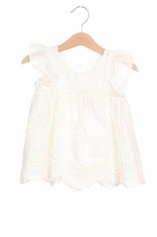 Детска туника Lola Palacios, Размер 18-24m/ 86-98 см, Цвят Бял, Памук, Цена 13,00лв.