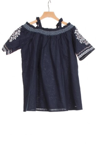 Tunică pentru copii Replay, Mărime 5-6y/ 116-122 cm, Culoare Albastru, 51% bumbac, 49% in, Preț 64,47 Lei