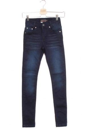 Детски дънки Blue Effect, Размер 10-11y/ 146-152 см, Цвят Син, 73% памук, 24% полиестер, 3% еластан, Цена 20,80лв.