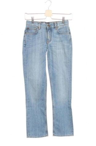 Детски дънки Gant, Размер 8-9y/ 134-140 см, Цвят Син, 89% памук, 11% еластан, Цена 24,03лв.
