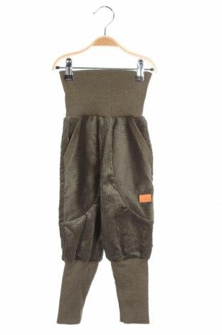 Детски джинси Livi, Размер 18-24m/ 86-98 см, Цвят Зелен, 95% памук, 5% еластан, Цена 18,48лв.