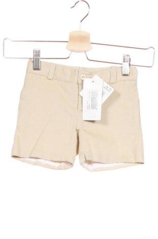 Παιδικό κοντό παντελόνι, Μέγεθος 2-3y/ 98-104 εκ., Χρώμα  Μπέζ, Βαμβάκι, Τιμή 4,49€