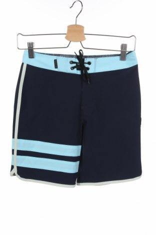 Pantaloni scurți pentru copii Hurley, Mărime 10-11y/ 146-152 cm, Culoare Albastru, 92% poliester, 8% elastan, Preț 34,05 Lei