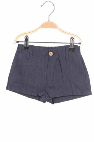Детски къс панталон Little Celebs, Размер 18-24m/ 86-98 см, Цвят Син, Памук, Цена 5,40лв.