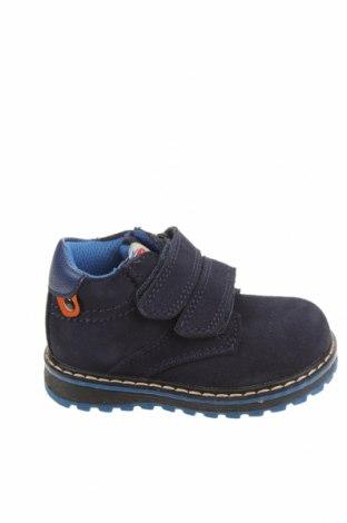 Детски обувки Balducci, Размер 20, Цвят Син, Естествен велур, еко кожа, Цена 23,70лв.