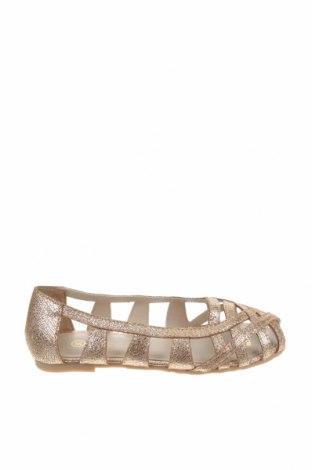 Детски обувки Carrement Beau, Размер 30, Цвят Златист, Естествена кожа, Цена 47,60лв.