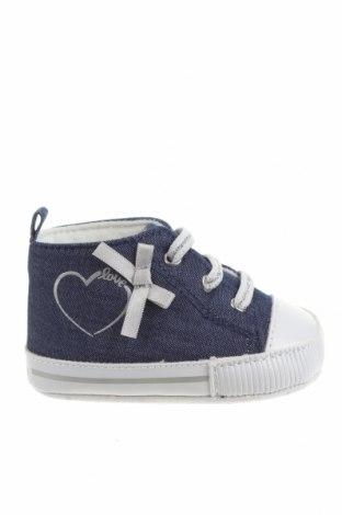 Детски обувки Chicco, Размер 16, Цвят Син, Текстил, Цена 28,42лв.